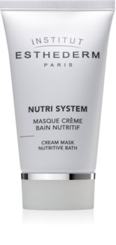 Institut Esthederm Nutri System maschera nutriente in crema effetto ringiovanente