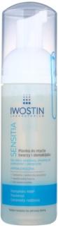 Iwostin Sensitia mousse struccante detergente per pelli sensibili e allergiche