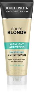 John Frieda Sheer Blonde Highlight Activating hydratačný kondicionér pre blond vlasy