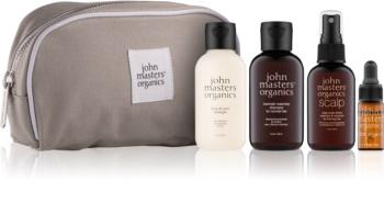 John Masters Organics Travel Kit Normal Hair kosmetická sada II. pro ženy
