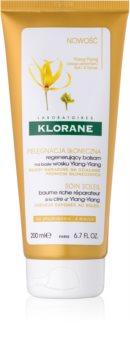Klorane Ylang-Ylang balsamo rigenerante per capelli affaticati dal sole