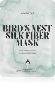 KOCOSTAR Bird's Nest Silk Fiber Mask maschera in tessuto per un'idratazione intensa della pelle