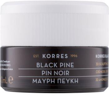 Korres Black Pine crema giorno rassodante effetto lifting per pelli normali e miste