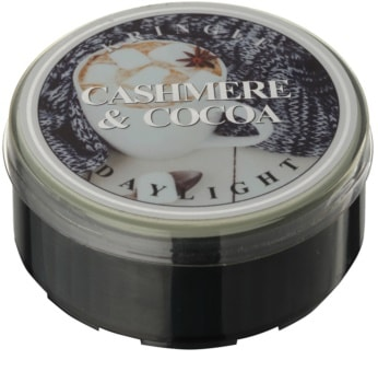 Kringle Candle Cashmere & Cocoa čajová sviečka