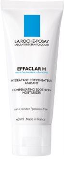 La Roche-Posay Effaclar H beruhigende und hydratisierende Creme für problematische Haut, Akne