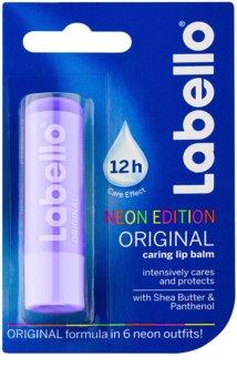 Labello Original Neon Edition balsamo labbra idratante intenso con burro di karité