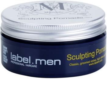 label.m Men produs ce intareste textura parului cu pomada