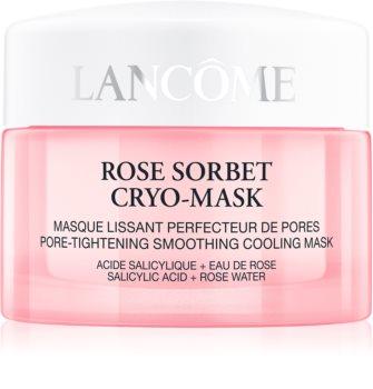Lancôme Rose Sorbet Cryo-Mask maschera di 5 minuti per una pelle fresca