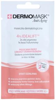 L'biotica DermoMask Anti-Aging maschera per recuperare la densità della pelle 40+