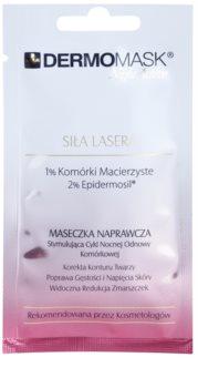 L'biotica DermoMask Night Active maschera ringiovanente intensa alle cellule staminali