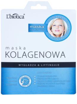 L'biotica Masks Collagen Platinium maschera in tessuto con collagene