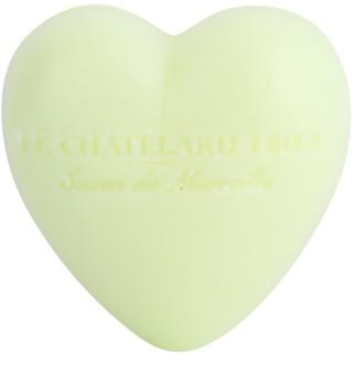 Le Chatelard 1802 Verbena & Lemon mydlo v tvare srdca