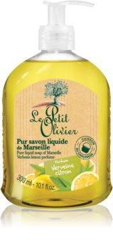 Le Petit Olivier Verbena & Lemon tekuté mýdlo