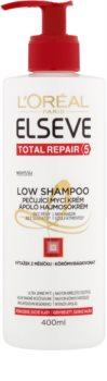 L'Oréal Paris Elseve Total Repair 5 Low Shampoo pečující mycí krém pro suché a poškozené vlasy