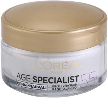 L'Oréal Paris Age Specialist 55+ crema giorno antirughe