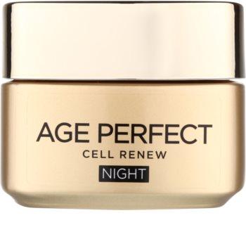 L'Oréal Paris Age Perfect Cell Renew crema notte per la rigenerazione cellulare della pelle