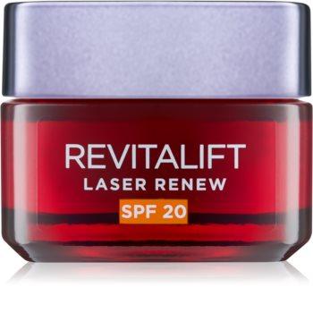 L'Oréal Paris Revitalift Laser Renew crema giorno contro le rughe SPF 20