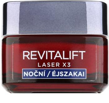 L'Oréal Paris Revitalift Laser X3 crema notte rigenerante anti-age