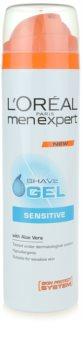 L'Oréal Paris Men Expert Hydra Sensitive gel per rasatura per pelli sensibili