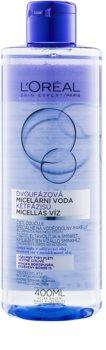 L'Oréal Paris Micellar Water acqua micellare bifasica per tutti i tipi di pelle, anche quelle sensibili