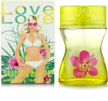 Love Love Sun & Love toaletná voda pre ženy 100 ml