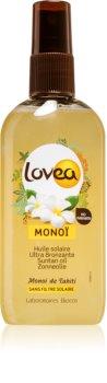 Lovea Monoi olej urýchľujúci opaľovanie