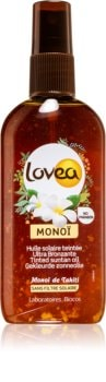 Lovea Monoi tónovací sprej pre urýchlenie opálenia