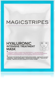 MAGICSTRIPES Hyaluronic Intensive Treatment intenzivní hydrogelová maska s kyselinou hyaluronovou