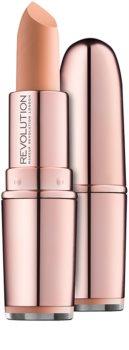 Makeup Revolution Iconic Matte Nude rtěnka s matným efektem