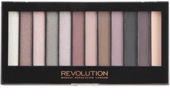 Makeup Revolution Romantic Smoked paletka očných tieňov
