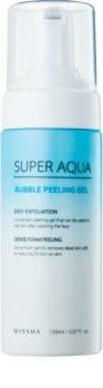 Missha Super Aqua Bubble Peeling Gel hydratačný peeling