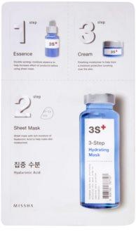 Missha 3-Step maschera idratante in tre fasi