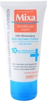 MIXA 24 HR Moisturising hydratisierende und nährende Creme für sehr trockene Haut