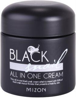 Mizon Black Snail All in One crema viso con bava di lumaca filtrata al 90%