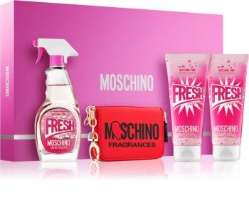 Moschino Fresh Couture Pink darčeková sada III. pre ženy