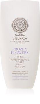 Natura Siberica Sibérie Blanche Frozen Flowers spevňujúci telový krém