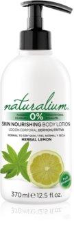 Naturalium Fruit Pleasure Herbal Lemon výživné telové mlieko