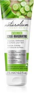 Naturalium Fresh Skin Cucumber osviežujúci telový peeling pre všetky typy pokožky