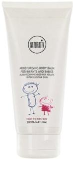 Naturativ Baby hydratačný telový balzam pre citlivú pokožku