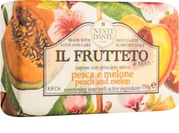 Nesti Dante Il Frutteto Peach and Melon přírodní mýdlo