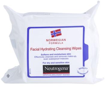 Neutrogena Face Care salviette detergenti per pelli secche e sensibili