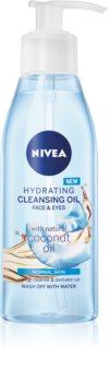 Nivea Cleansing Oil Hydrating Coconut olio detergente per pelli normali