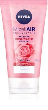 Nivea MicellAir  Rose Water gel micellare detergente