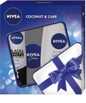 Nivea Creme Coconut set cosmetice I. pentru femei