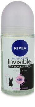 Nivea Invisible Black & White Clear antitraspirante roll-on