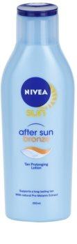 Nivea Sun After Sun & Bronze latte doposole per prolungare l'abbronzatura