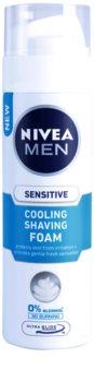 Nivea Men Sensitive schiuma da barba con effetto rinfrescante