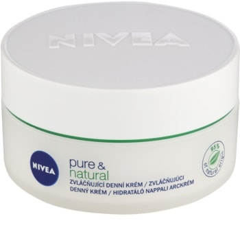 Nivea Visage Pure & Natural crema giorno emolliente per pelli normali e miste