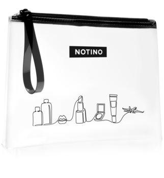 Notino Travel transparentní kosmetická taštička