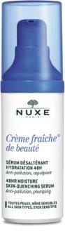 Nuxe Crème Fraîche de Beauté siero lenitivo e idratante